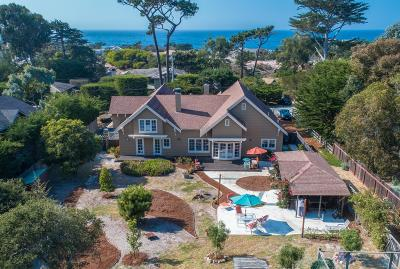 Pacific Grove Single Family Home For Sale: 415 Asilomar Blvd