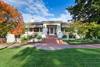 LOS GATOS Single Family Home For Sale: 47 Alpine Ave