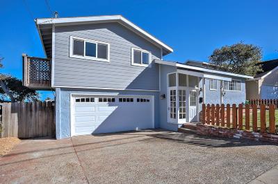 Pacific Grove Single Family Home For Sale: 488 Junipero Ave