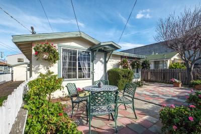 Seaside Single Family Home For Sale: 665 Williams Ave