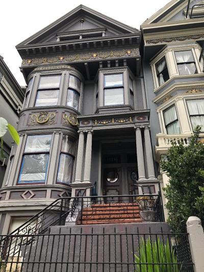 SAN FRANCISCO Multi Family Home For Sale: 1736 Fell St