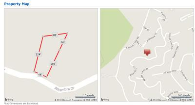 BELMONT Residential Lots & Land For Sale: 000 Alhambra Dr