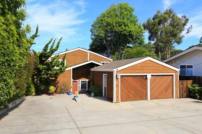 SANTA CRUZ Single Family Home For Sale: 269 14th Ave