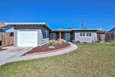 SALINAS Single Family Home For Sale: 357 Reata St