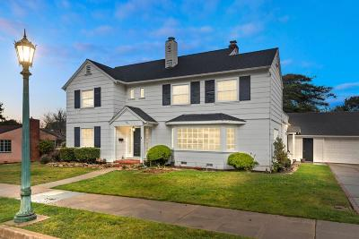 Pacific Grove Single Family Home For Sale: 626 Hillcrest Ave