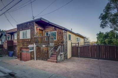 BRISBANE Single Family Home Contingent: 260 Klamath St