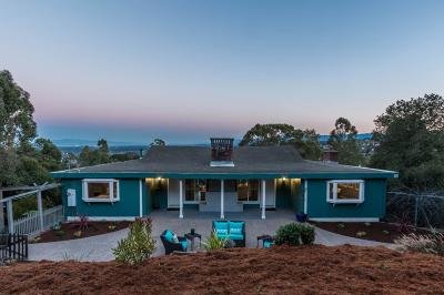 REDWOOD CITY Single Family Home For Sale: 815 Palomar Dr