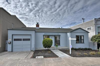 San Bruno Single Family Home For Sale: 273 Mastick Ave