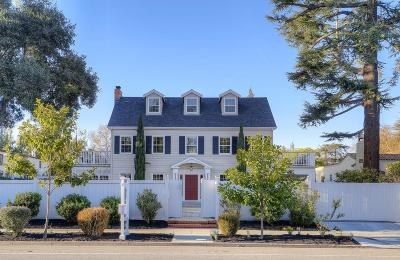 Palo Alto Single Family Home For Sale: 1531 University Ave