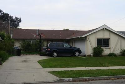 SAN JOSE Single Family Home For Sale: 5649 Holland Ln