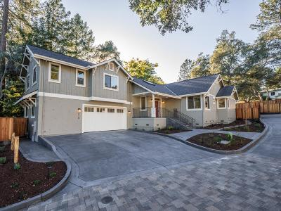 Scotts Valley Single Family Home Contingent: 518 Lockewood Ln