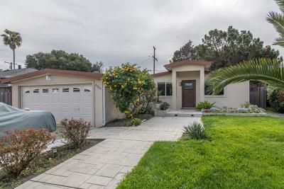 SAN JOSE Single Family Home For Sale: 2330 Newhall St