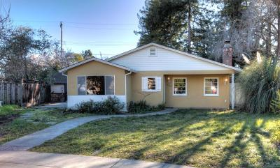 PALO ALTO Single Family Home For Sale: 864 Fielding Ct