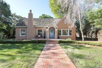 Palo Alto Single Family Home For Sale: 430 Palm St