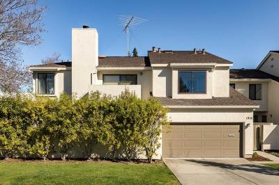 Mountain View Townhouse For Sale: 1918 Hackett Ave