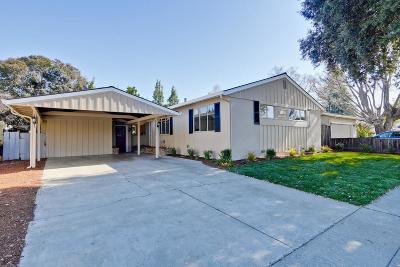 Sunnyvale Single Family Home For Sale: 848 Peach Ave