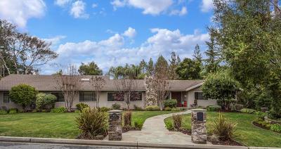 Saratoga Single Family Home For Sale: 19521 Douglass Ln