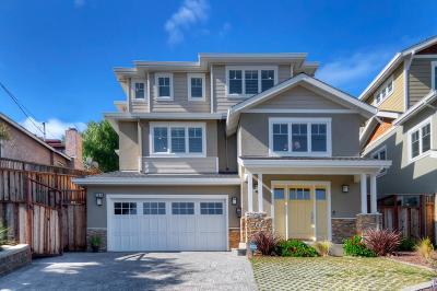 SAN CARLOS Single Family Home For Sale: 984 Alameda De Las Pulgas
