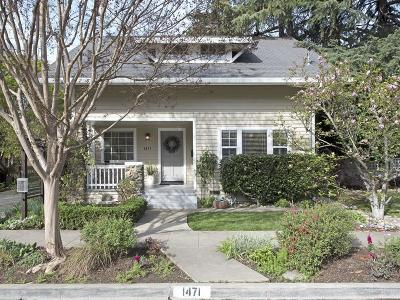 SAN JOSE Single Family Home For Sale: 1471 Cherry Ave