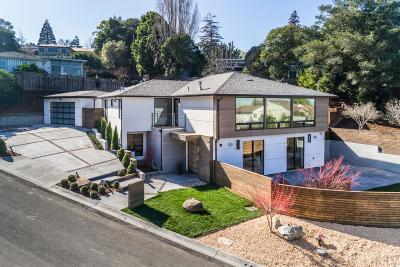 Belmont, Burlingame, Foster City, Hillsborough, Redwood City, Redwood Shores, San Carlos, San Mateo, Woodside Single Family Home For Sale: 2635 Summit Dr