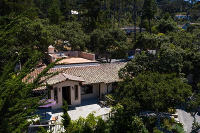 Carmel Highlands Single Family Home For Sale: 120 Fern Canyon Rd