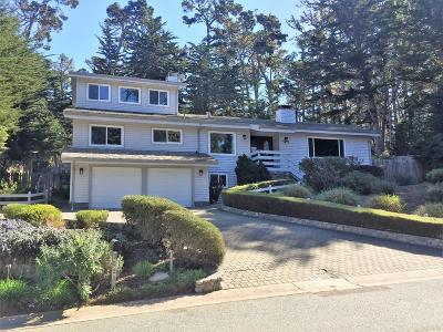 Pebble Beach Single Family Home For Sale: 3033 Forest Way