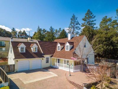 SCOTTS VALLEY CA Single Family Home For Sale: $1,295,000