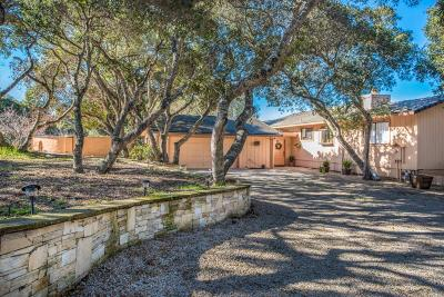Carmel Single Family Home For Sale: 25490 Via Paloma