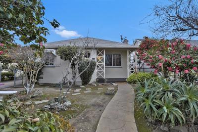 SAN MATEO CA Single Family Home Contingent: $1,150,000