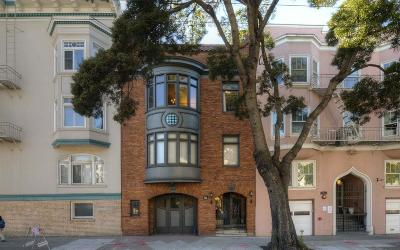 SAN FRANCISCO Single Family Home For Sale: 3011 Van Ness Ave