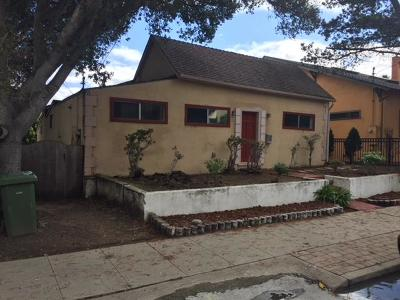 Monterey Single Family Home For Sale: 419 Watson St
