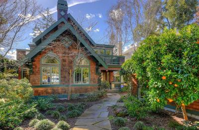 PALO ALTO Single Family Home For Sale: 1044 Forest Ave