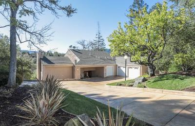 LOS GATOS Single Family Home For Sale: 727 Bicknell Rd