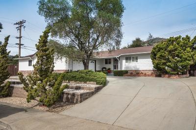 Redwood City Single Family Home For Sale: 3902 Bret Harte Dr