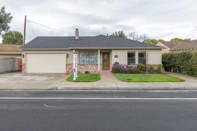SANTA CLARA Single Family Home For Sale: 558 Saratoga Ave