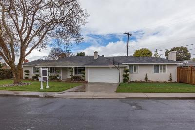 SANTA CLARA Single Family Home For Sale: 2113 Bohannon Dr