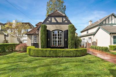 BURLINGAME Single Family Home For Sale: 724 Concord Way