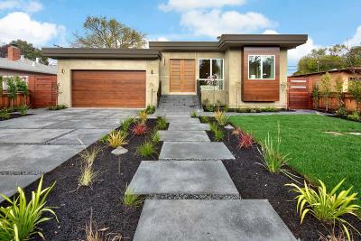 PALO ALTO Single Family Home For Sale: 3513 Waverley St