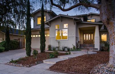 PALO ALTO Single Family Home For Sale: 2947 Clara Dr