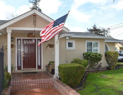 REDWOOD CITY Single Family Home For Sale: 3050 Edison Way