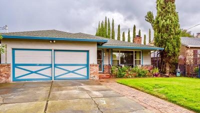 Redwood City Single Family Home For Sale: 132 Rutherford Ave