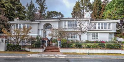 HILLSBOROUGH Single Family Home For Sale: 2735 Churchill Dr