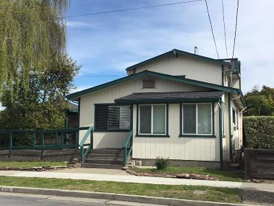 Santa Cruz County Single Family Home For Sale: 620 Columbia St