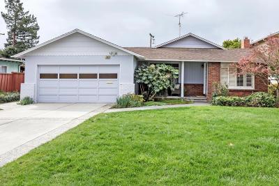 SUNNYVALE Single Family Home For Sale: 1152 Parkington Ave
