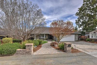 Los Altos Single Family Home For Sale: 1357 Oakhurst Ave