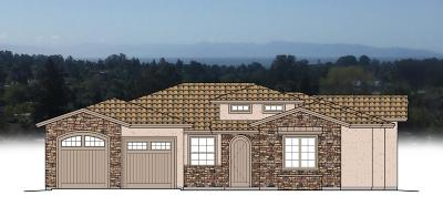 Soquel Single Family Home For Sale: Lot 2 Indy Cir