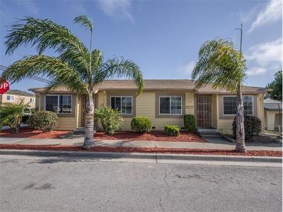 SALINAS Multi Family Home For Sale: 496 San Benito Cir
