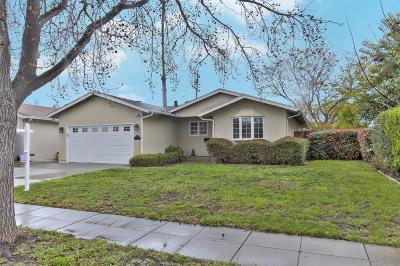 SAN JOSE Single Family Home For Sale: 6353 Bancroft Way