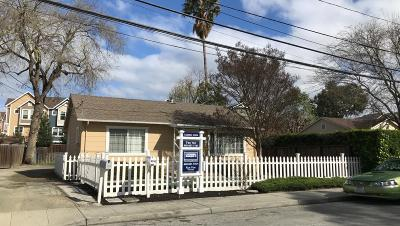 Mountain View Single Family Home For Sale: 853 Sierra Vista Ave