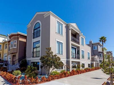 SAN FRANCISCO Single Family Home For Sale: 496 38th Ave